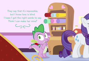 A Spike Horse Valentine by dm29