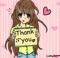 thank you by dinoblood