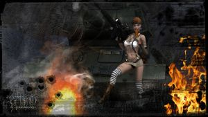 Tank-Girl-Char by andfinnel