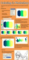 painterly coloring tutorial by mayamei
