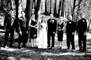 Bridal Party in the Woods 2 by QueenSheba24