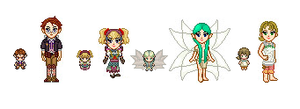 Twilight Princess Sprites by Hikolol35