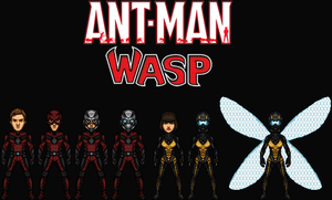 Ant-Man and the Wasp (New Earth) by Nova20X