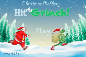 Christmas Robbery: Hit the grinch main Menu by cavalars