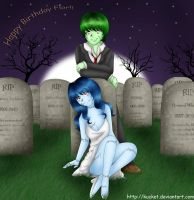In The Graveyard by Kucket