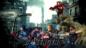The Avengers Wallpaper by PaulRom