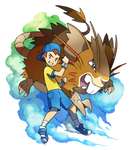 !My Raticate is over 9000 percent! by Tomycase