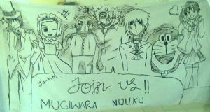 Mugiwara Nijuku Promotion Banner by sweetya96