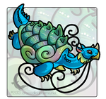 Dragon Turtle by crocodiledreams