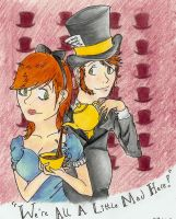 Alice and the Hatter by ItsaCatch-22