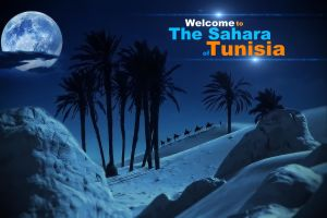Welcome to The Sahara Of Tunisia by MixMyPhotoshop