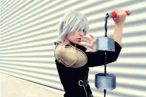 Seven -Final Fantasy type-0- II by FreakySpikyHead