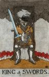 King of Swords by Fernoll