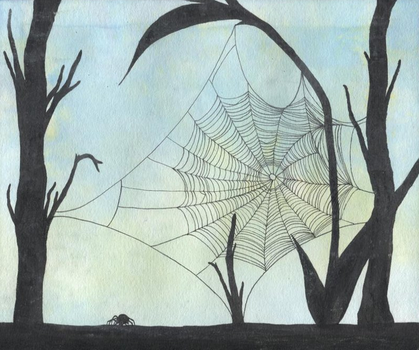 Web Silhouette by Amber-LOTR-FREAK