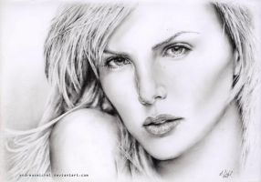 Charlize Theron by andreasmichel
