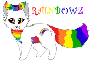 RainbowZ my new character! by Almost-Nameless
