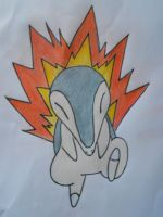 Cyndaquil by PokeFan-Alice