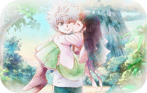 Killua And Alluka by Cathy-sensei