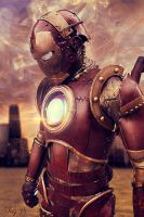 Iron man Cosplay Photomanipulation by Tinss
