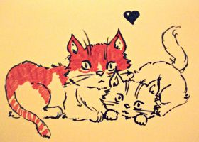 Purrfect Love. by Catist