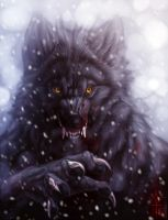 Winter Werewolf by Anuwolf
