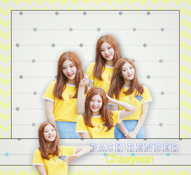 [ PACK RENDER #5 ] 5 PNGS CHAEYEON  IOI by Risahhh