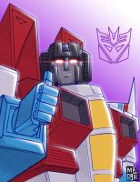 Starscream says thanks a lot by rattrap587