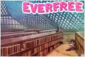 postcards from Everfree--twilight by CosmicUnicorn