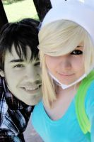 Fionna and Marshall Lee by Emma-in-candyland