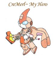 CreMerl- My Hero by SonicFansRock4Life