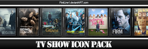 TV Show Icon Pack 11 by FirstLine1