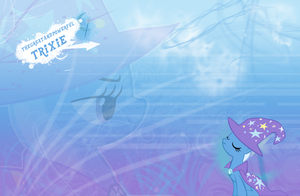 FiM: Trixie Wallpaper by M24Designs