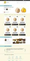 Home page for an e-Commerce website by samadarag