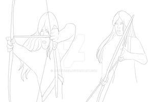 Archimedes Archery WIP by ArticTiger