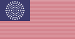 My proposed American Flag (100 Stars) by AUTO2011