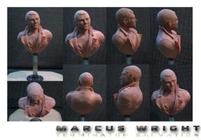 Marcus Wright Bust by Robo-Shark