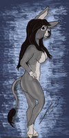 Jenny, In Color :) Now as a Limited Time Print by LilWolfStudios