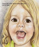 Abbie, pastels and pencils by LadyGray01