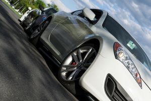 Four Genesis Coupes Close Up by ThirdGearPhotography