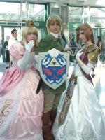 He saved two princesses? by triforcechiq