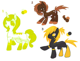 Pony adoptable SALE by StrawberrySplatters