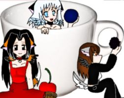 Me and my friends in a cup by Inami4