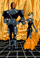 Slade and B'do date by Scintillant-H