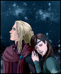 Aegnor and Andreth by MellorianJ