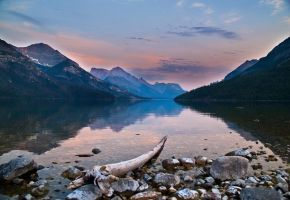 Waterton Lake by MirMidPhotos