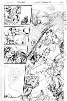 Marvel Fantastic Four TryOut Page 2 by DubuGomdori