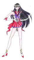 Etherial Sailor Mars by Evilness321