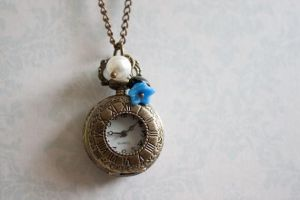Pocket Watch Jewelry Necklace by YourSweetTreat