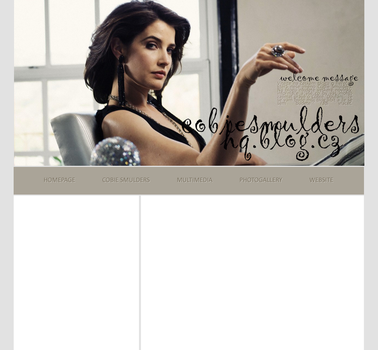 Ordered Layout ft. Cobie Smulders by Kate-Mikaelson