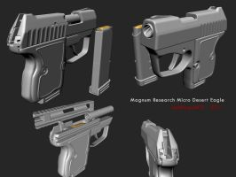 Magnum Research Micro Desert Eagle by redroguexiii